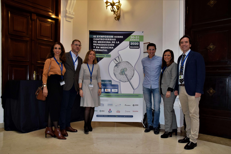 María de la calle en el Symposium controversias medicina reproducción y perinatal